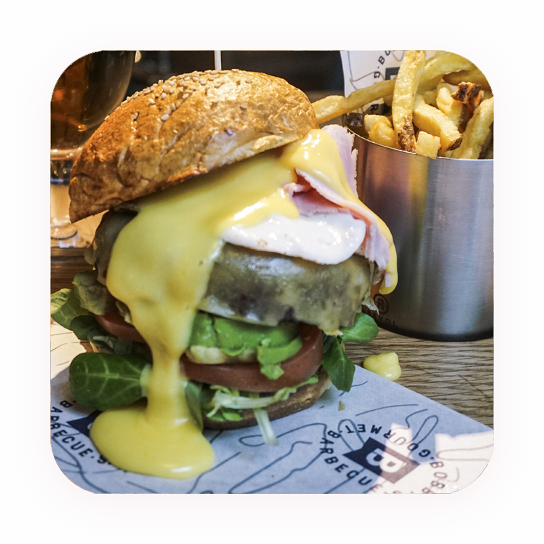 Bobbys Bilbao Menu Burger